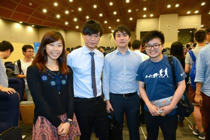 Serving the role as a mentor during Hong Kong Techathon 2015
