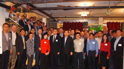 Censpot's participation In the delegation tour to US
