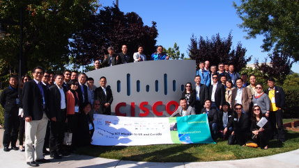 Visit to Headquarters of Cisco